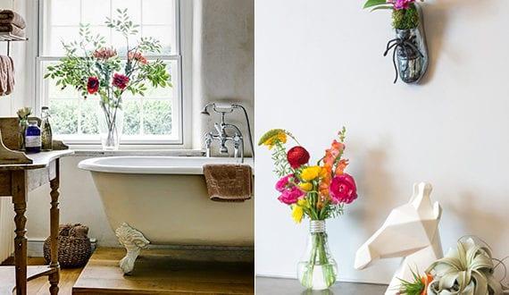 Coole Idee Fuer Badezimmergestaltung Mit Pflanzen Fuers