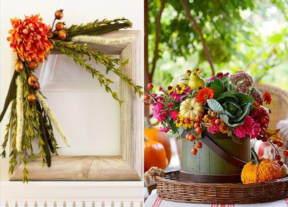 Herbstdeko Ideen.Ideen Fuer Bunte Herbstdeko Basteln Freshouse