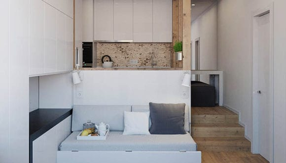 25m²: ein multifunktionales City Apartment