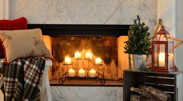 Kerzen Dekoideen Fur Mehr Romantik In Den Kalten Wintertagen Freshouse