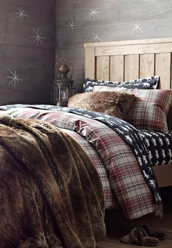 Wie Laesst Sich Im Winter Ein Schlafzimmer Gemuetlich
