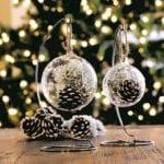kreative und einfache bastelideen für diy weihnachtsdeko mit nadelbäume zapfen
