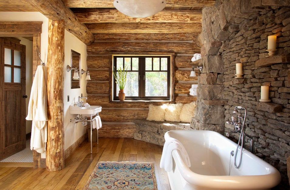landhausstil-im-badezimmer-gestalten-mit-rundholz-und-steinmauer ...