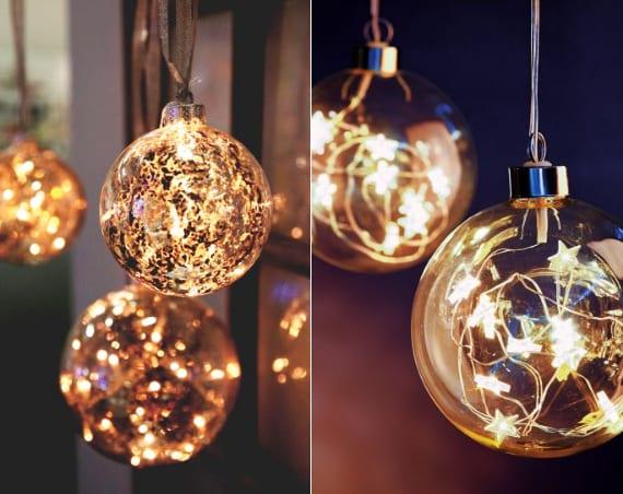 Led Weihnachtskugeln.Das Zuhause Neu Gestalten Und Gemuetlich Einrichten Zur