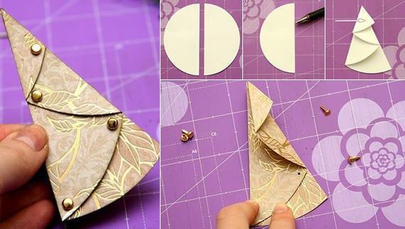 Tannenbaum Aus Papier Falten