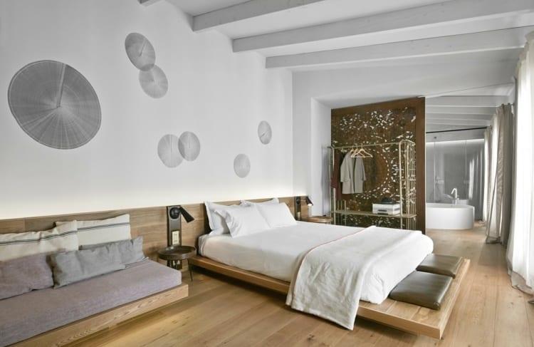 bemerkenswerte-raumgestaltung-idee-fuer-schlafzimmer-mit-bad - fresHouse