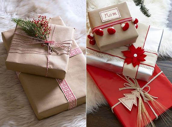 schnell und originell weihnachtliche geschenke verpacken mit weizen und kraeutern freshouse. Black Bedroom Furniture Sets. Home Design Ideas