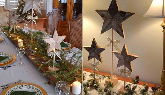 stern aus holz basteln fuer festliche tischdeko zu weihnachten freshouse. Black Bedroom Furniture Sets. Home Design Ideas