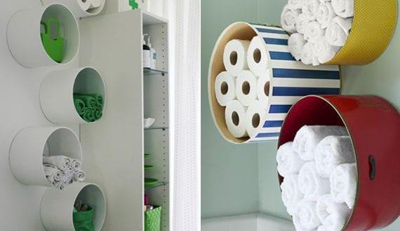 bad in ordnung halten mit originellen aufbewahrungsideen freshouse. Black Bedroom Furniture Sets. Home Design Ideas