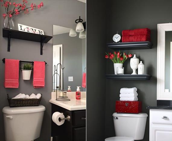 Bad In Ordnung Halten_luxus Badezimmer In Schwarz Und