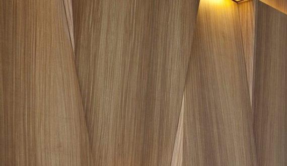 holz und licht moderne wandgestaltung und kreatives lichtkonzept mit lampen aus holz freshouse. Black Bedroom Furniture Sets. Home Design Ideas