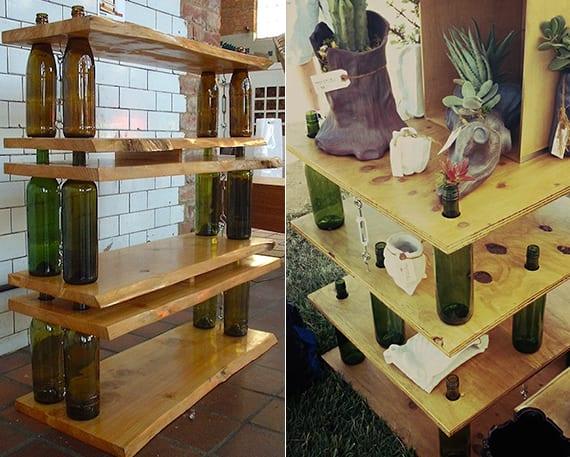 Inspirierende Bastel Und Upcycling Ideen Mit Weinflaschen Fuer Diy