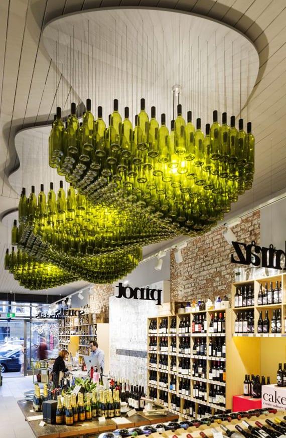 Upcycling Ideen inspirierende bastel und upcycling ideen mit weinflaschen fuer