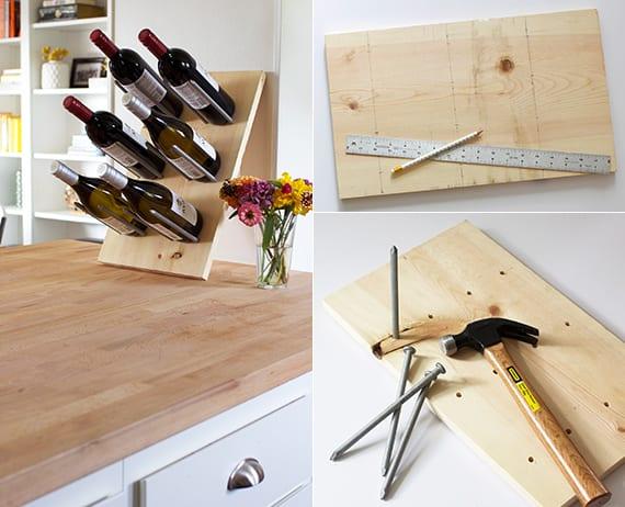 Weinregal Selber Bauen Holz : so einfach kann man ein eigenes weinregal selber bauen mit ~ Watch28wear.com Haus und Dekorationen