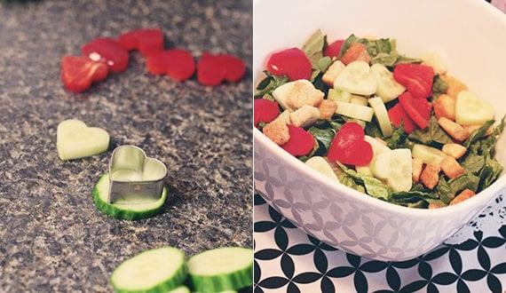 Valentinstag Menu Ideen Fur Romantisches Essen In Herzform Salate