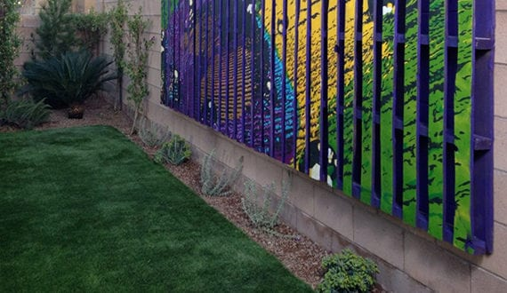 Wandgestaltung Ideen Mit Paletten Als Dekoration Im Garten