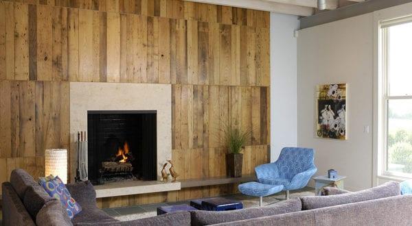 Wandgestaltung Ideen Mit Paletten Für Holzwand Im