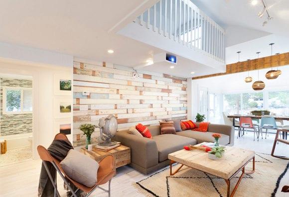 Wandgestaltung ideen mit paletten f r frische und moderne for Raumgestaltung hochzeit
