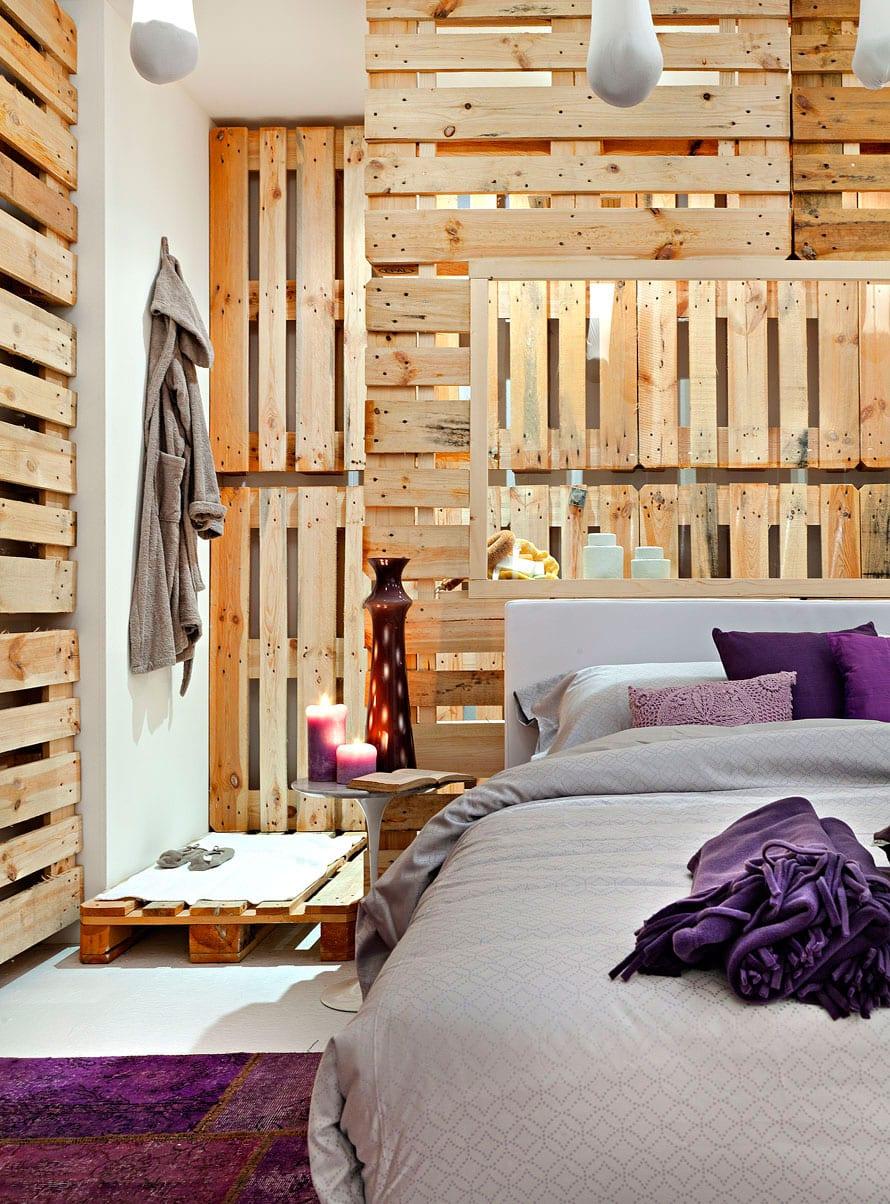 Wandgestaltung Schlafzimmer Lila Caseconrad Com