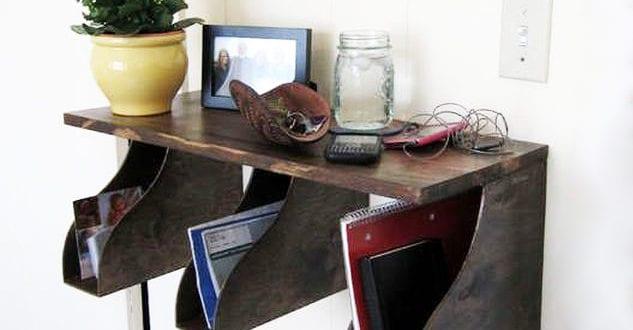 ordnung halten mittels zeitschriftensammler freshouse. Black Bedroom Furniture Sets. Home Design Ideas