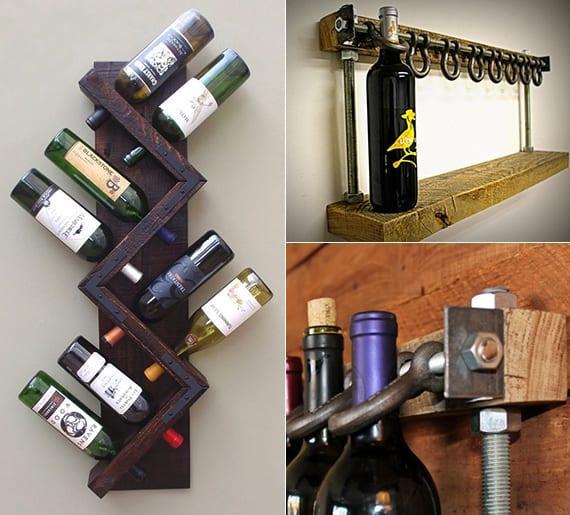 Weinregal Selber Bauen Holz : individuelles weinregal selber bauen aus holz freshouse ~ Watch28wear.com Haus und Dekorationen