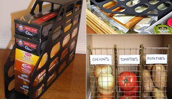 küche-in-Ordnung-halten-mittels-Zeitschriftensammler - fresHouse