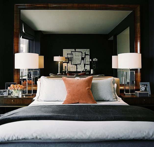 Schlafzimmer-Ideen-für-Schlafzimmer-gestalten-mit-Spiegel-Bett ...