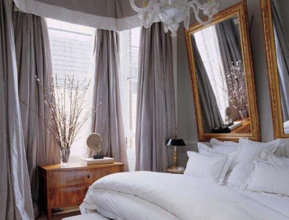 Coole Ideen Für Schlafzimmer Gestalten Mit Spiegel Bett