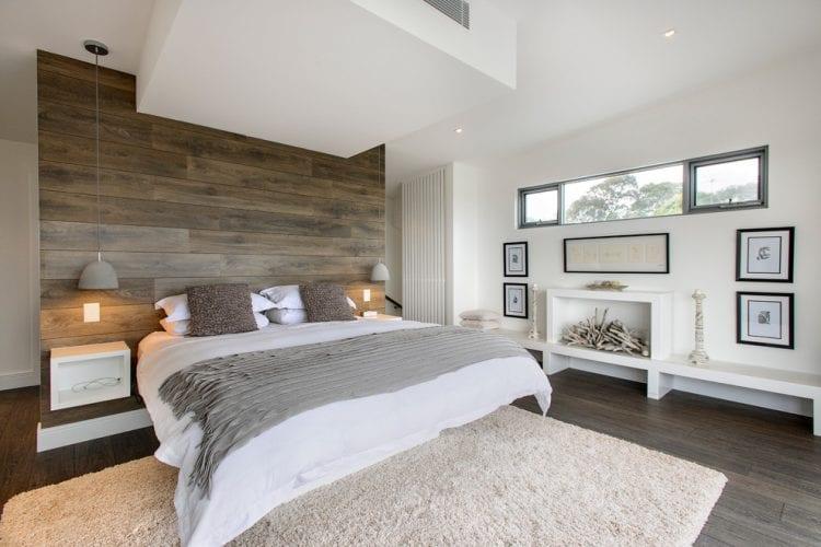 Wohnideen Schlafzimmer - den Platz hinterm Bett für kleiderschrank ...