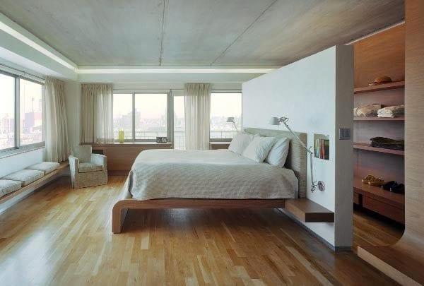 verwerten hinterm schlafzimmer wohnideen bett platz freshouse