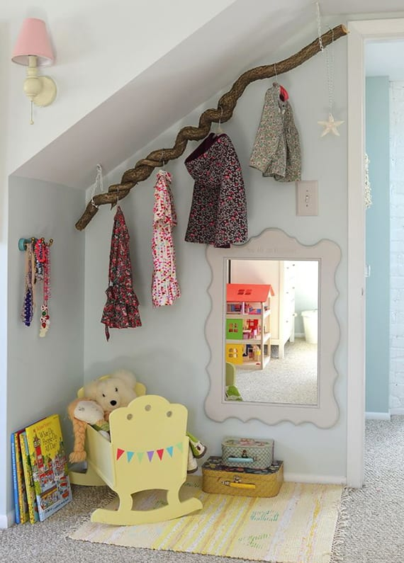 Diy Kleiderstange ein reizendes kinder und babyzimmer gestalten mit diy ast