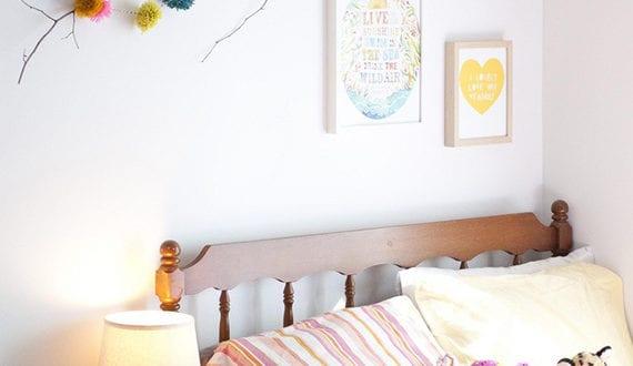 ein reizendes kinder und babyzimmer gestalten mit zweigen coole deko f r kinderzimmer freshouse. Black Bedroom Furniture Sets. Home Design Ideas