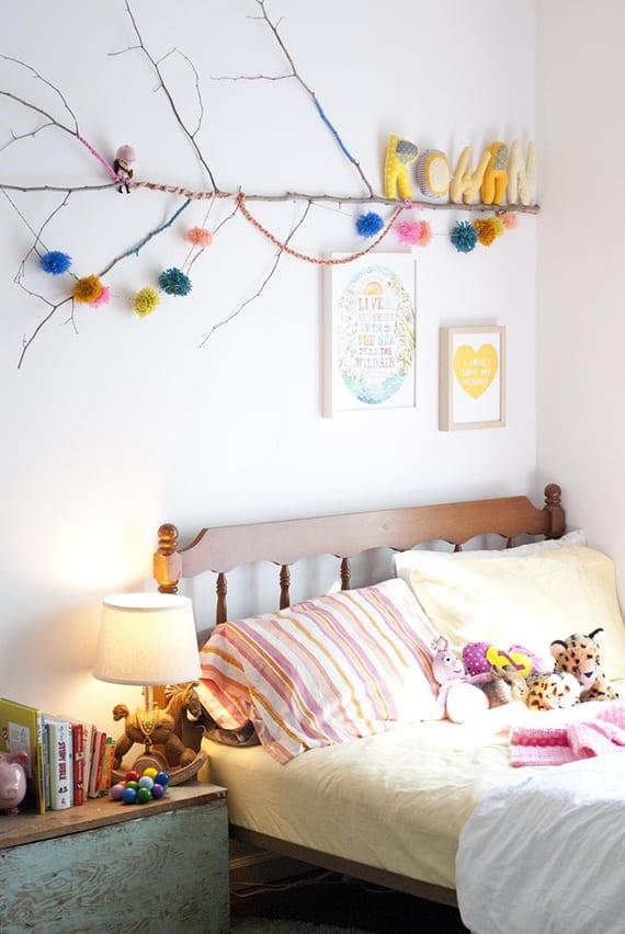 Ein-reizendes-Kinder-und-Babyzimmer-gestalten-mit-Zweigen_coole-deko ...