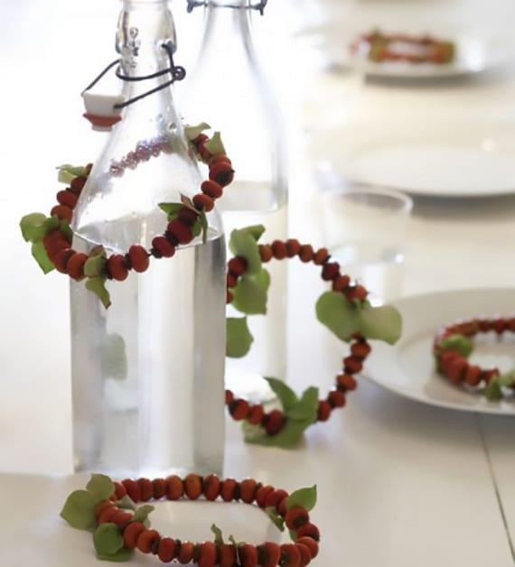 Elegante Und Mininimatolle Bastelideen Hersbt Mit Beerenfruchten Fur