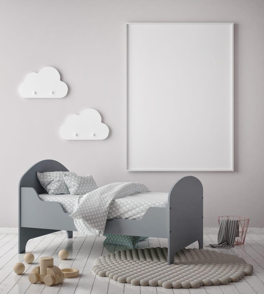 moderne kinderzimmergestaltung im skandinavischen stil mit neutralen farben freshouse. Black Bedroom Furniture Sets. Home Design Ideas