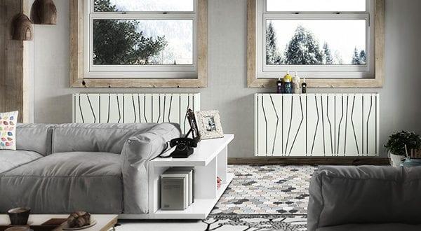 Heizkörperverkleidung: die kreative Gestaltung zusätzlicher Sitz- und Abstellfläche