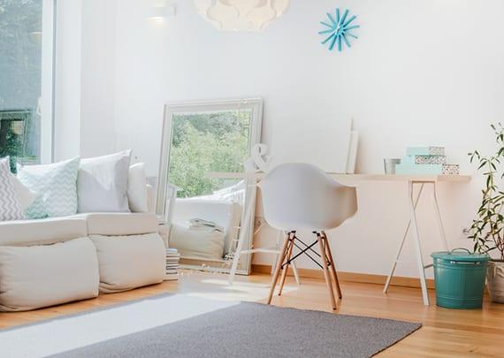Coole Wohnideen Fur Kleine Und Gemutliche Wohnzimmer Mit Weisser