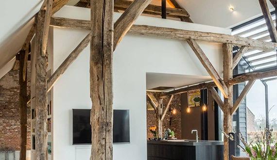 coole wohnideen f r moderne wohnzimmergestaltung im einfamilienhaus mit offenem grundriss. Black Bedroom Furniture Sets. Home Design Ideas
