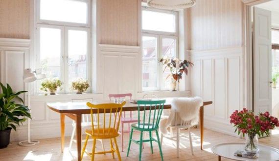 einrichtungsideen-für-ein-buntes-esszimmer-im-scandinavian-style ...