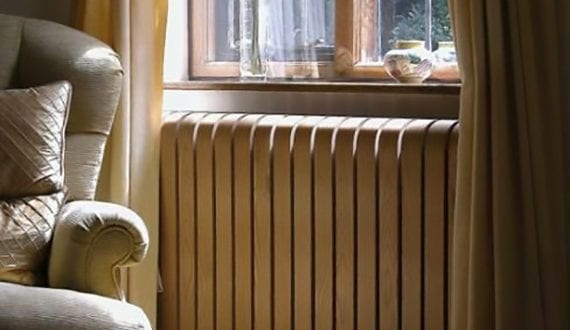 Heizkörperverkleidung Holz elegante raumgestaltung mit gerundeter heizkörperverkleidung holz