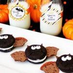 halloween snacks für kinderpartys schnell vorbereiten