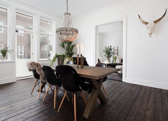 Inspirierende Einrichtungsideen Fur Ein Skandinavisches Esszimmer