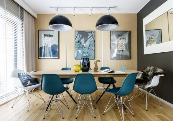 Interessante Esszimmer Ideen Für Bunte Raumgestaltung Mit Holz,