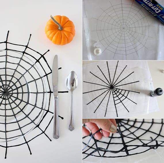 Kreatives Basteln Fur Halloween Tischdeko Und Fensterdeko Freshouse