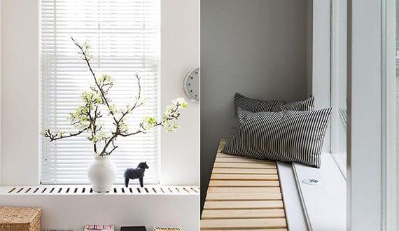 Minimalistische Raumgestaltung Mit Moderner Heizkörper Abdeckung Aus Holz