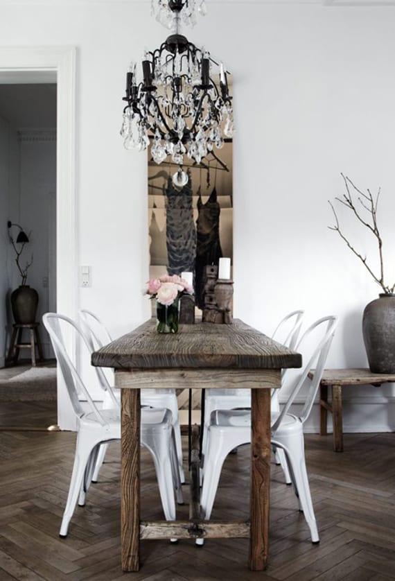 Rustikales Esszimmer Interieur Design Mit Nordischem Look Freshouse