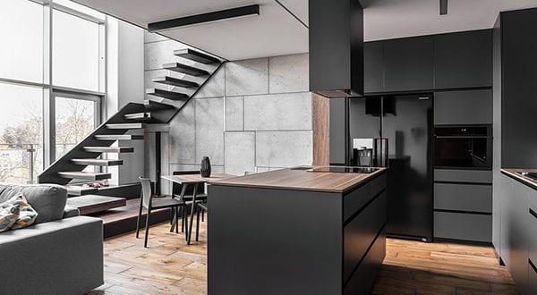 Super Schickes Apartement Design einer Männerwohnung - fresHouse NQ34