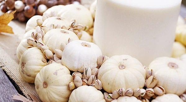 4 Bastelideen für eine weiße Naturdeko im Herbst und Winter