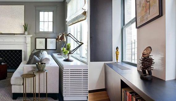 Wohnideen Für Heizung Unter Fenster In Modernem Regal