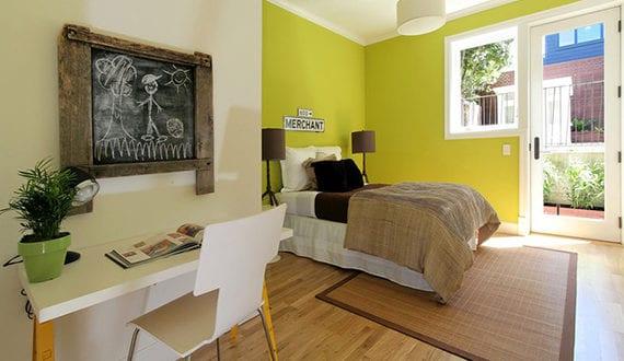 Farbgestaltung Jugendzimmer Fur Jungs Und Madchen Mit Der Wandfarve